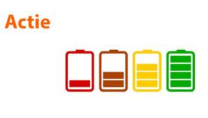 actie iphone batterij