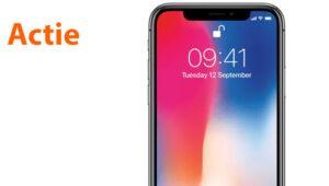actie iphone x